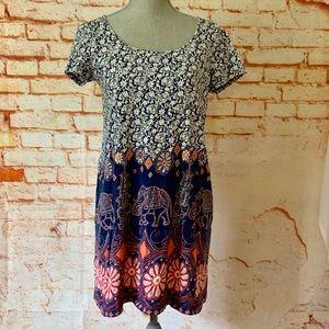Lucky Brand Tee Shirt Dress